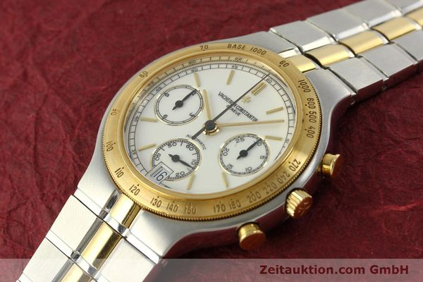 Used luxury watch Vacheron & Constantin Phidias chronograph steel / gold automatic Kal. 1136 Ref. 619331  | 151366 01