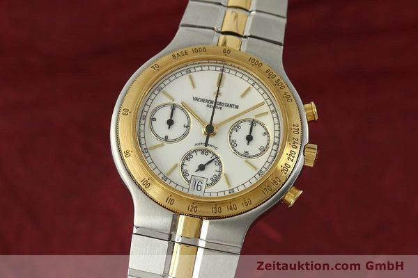 Used luxury watch Vacheron & Constantin Phidias chronograph steel / gold automatic Kal. 1136 Ref. 619331  | 151366 04