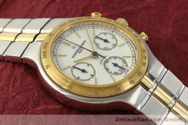 Used luxury watch Vacheron & Constantin Phidias chronograph steel / gold automatic Kal. 1136 Ref. 619331  | 151366 15