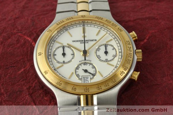 Used luxury watch Vacheron & Constantin Phidias chronograph steel / gold automatic Kal. 1136 Ref. 619331  | 151366 16