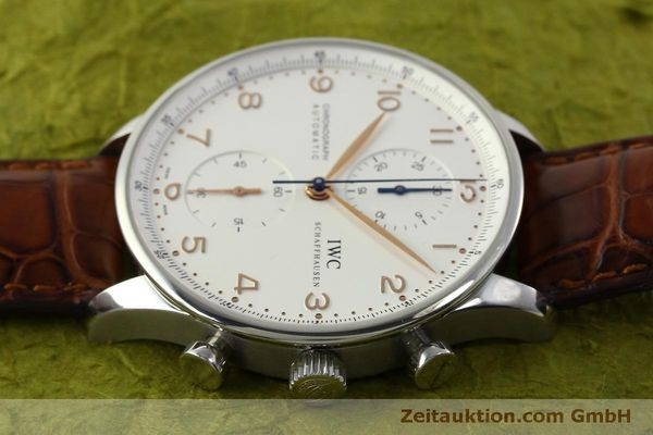 Used luxury watch IWC Portugieser chronograph steel automatic Kal. 79240 Ref. 3714  | 151368 05