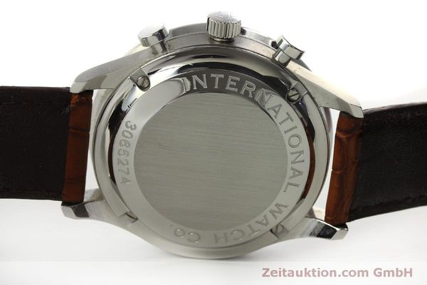Used luxury watch IWC Portugieser chronograph steel automatic Kal. 79240 Ref. 3714  | 151368 09