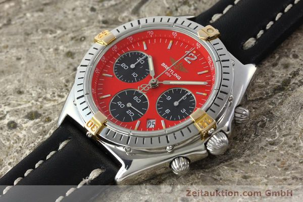 Used luxury watch Breitling Sextant chronograph steel / gold quartz Kal. 1270 Ref. B55047  | 151370 01