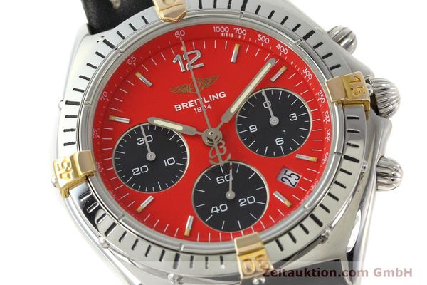 Used luxury watch Breitling Sextant chronograph steel / gold quartz Kal. 1270 Ref. B55047  | 151370 02
