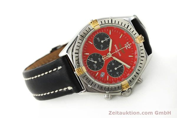 Used luxury watch Breitling Sextant chronograph steel / gold quartz Kal. 1270 Ref. B55047  | 151370 03