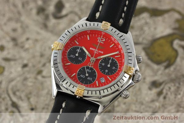 Used luxury watch Breitling Sextant chronograph steel / gold quartz Kal. 1270 Ref. B55047  | 151370 04