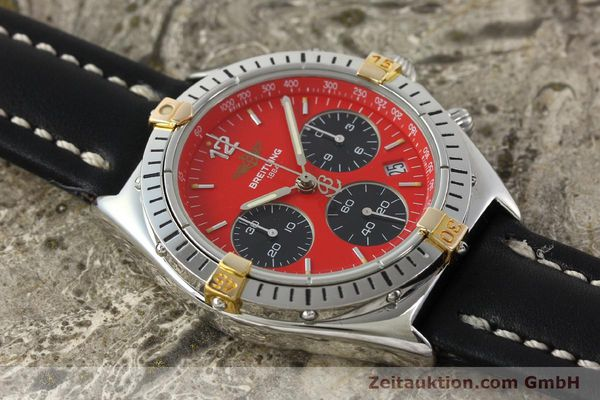Used luxury watch Breitling Sextant chronograph steel / gold quartz Kal. 1270 Ref. B55047  | 151370 13