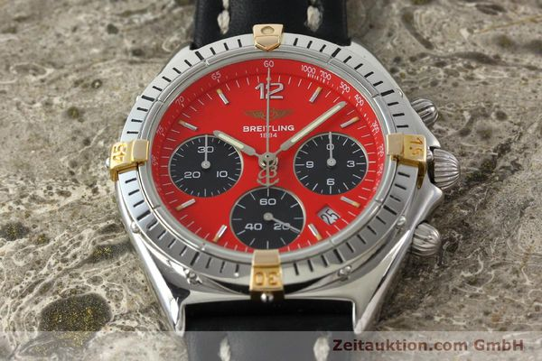 Used luxury watch Breitling Sextant chronograph steel / gold quartz Kal. 1270 Ref. B55047  | 151370 14