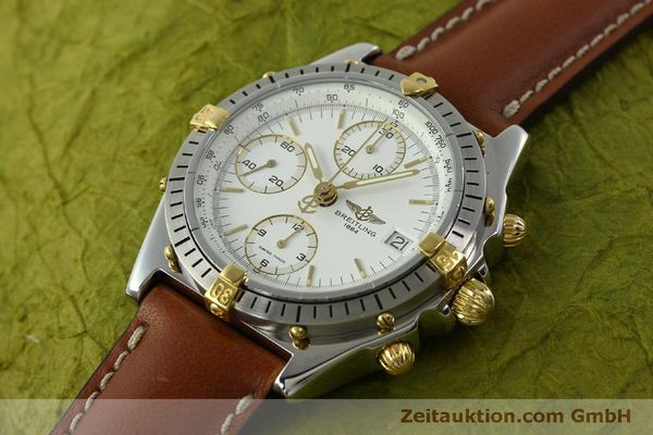 Used luxury watch Breitling Chronomat chronograph steel / gold automatic Kal. B13 ETA 7750 Ref. B13047  | 151371 01