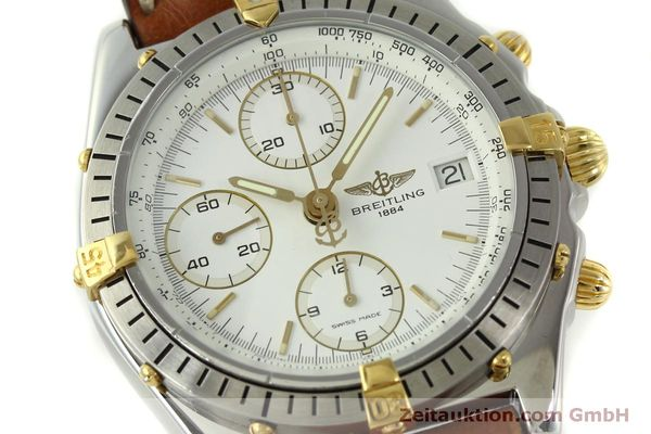 Used luxury watch Breitling Chronomat chronograph steel / gold automatic Kal. B13 ETA 7750 Ref. B13047  | 151371 02