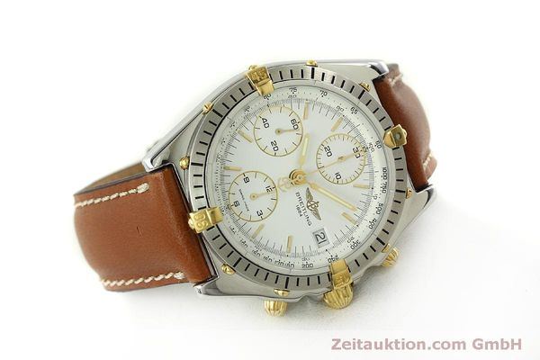 Used luxury watch Breitling Chronomat chronograph steel / gold automatic Kal. B13 ETA 7750 Ref. B13047  | 151371 03