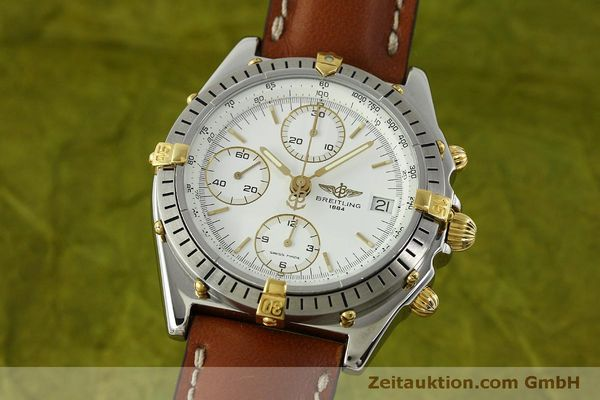 Used luxury watch Breitling Chronomat chronograph steel / gold automatic Kal. B13 ETA 7750 Ref. B13047  | 151371 04