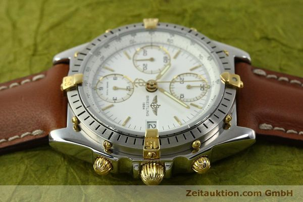 Used luxury watch Breitling Chronomat chronograph steel / gold automatic Kal. B13 ETA 7750 Ref. B13047  | 151371 05