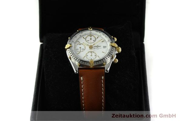 Used luxury watch Breitling Chronomat chronograph steel / gold automatic Kal. B13 ETA 7750 Ref. B13047  | 151371 07