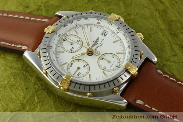 Used luxury watch Breitling Chronomat chronograph steel / gold automatic Kal. B13 ETA 7750 Ref. B13047  | 151371 14