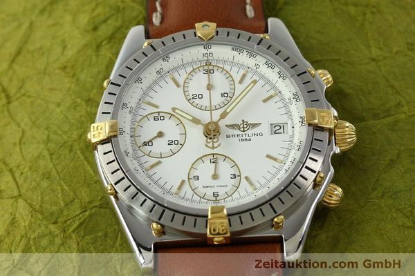 Used luxury watch Breitling Chronomat chronograph steel / gold automatic Kal. B13 ETA 7750 Ref. B13047  | 151371 15