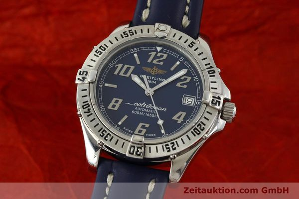 Used luxury watch Breitling Colt Oceane steel automatic Kal. B17 ETA 2824-2 Ref. A17050  | 151372 04