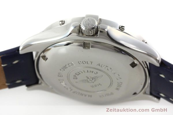 Used luxury watch Breitling Colt Oceane steel automatic Kal. B17 ETA 2824-2 Ref. A17050  | 151372 08