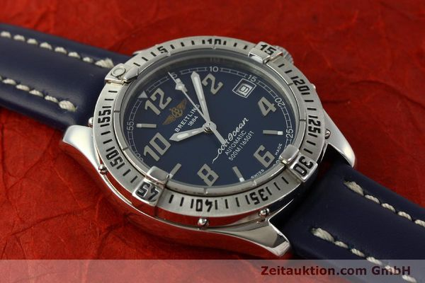 Used luxury watch Breitling Colt Oceane steel automatic Kal. B17 ETA 2824-2 Ref. A17050  | 151372 12