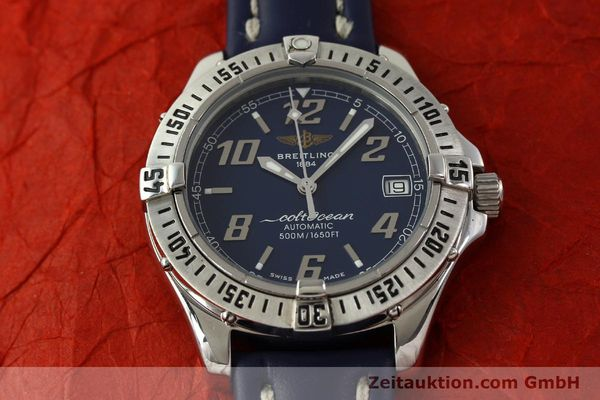 Used luxury watch Breitling Colt Oceane steel automatic Kal. B17 ETA 2824-2 Ref. A17050  | 151372 13