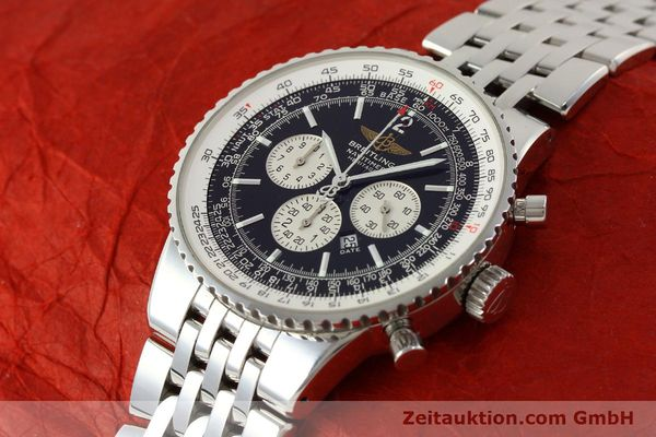 Used luxury watch Breitling Navitimer chronograph steel automatic Kal. B35 ETA 2892A2 Ref. A35340  | 151373 01
