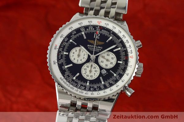 Used luxury watch Breitling Navitimer chronograph steel automatic Kal. B35 ETA 2892A2 Ref. A35340  | 151373 04