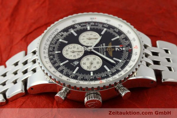 Used luxury watch Breitling Navitimer chronograph steel automatic Kal. B35 ETA 2892A2 Ref. A35340  | 151373 05