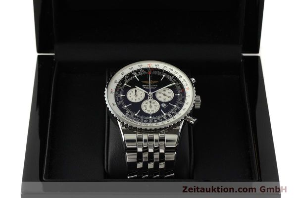 Used luxury watch Breitling Navitimer chronograph steel automatic Kal. B35 ETA 2892A2 Ref. A35340  | 151373 07
