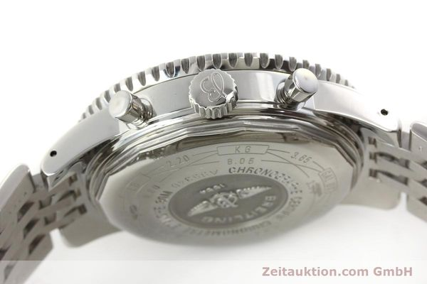 Used luxury watch Breitling Navitimer chronograph steel automatic Kal. B35 ETA 2892A2 Ref. A35340  | 151373 08