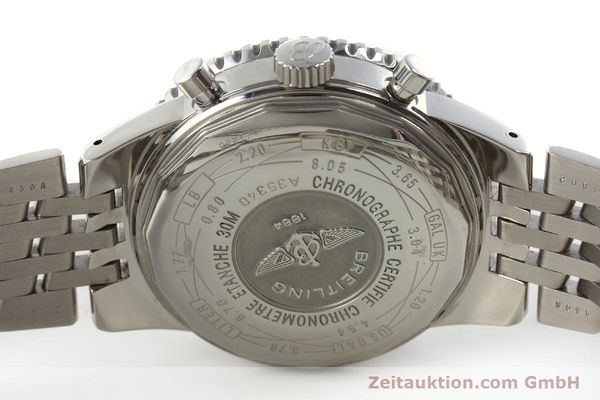 Used luxury watch Breitling Navitimer chronograph steel automatic Kal. B35 ETA 2892A2 Ref. A35340  | 151373 09