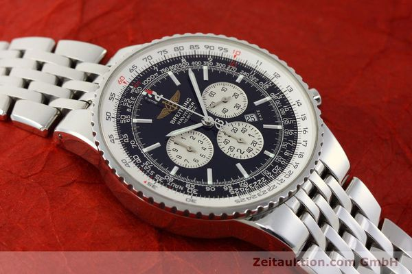 Used luxury watch Breitling Navitimer chronograph steel automatic Kal. B35 ETA 2892A2 Ref. A35340  | 151373 13