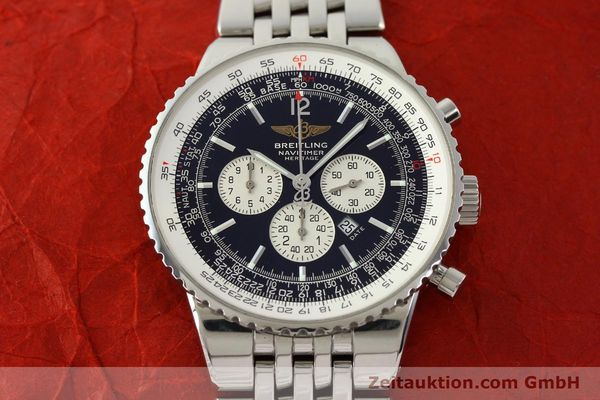 Used luxury watch Breitling Navitimer chronograph steel automatic Kal. B35 ETA 2892A2 Ref. A35340  | 151373 14