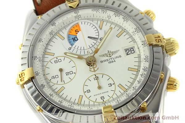 Used luxury watch Breitling Chronomat chronograph steel / gold automatic Kal. B13 ETA 7750 Ref. B13048  | 151375 02
