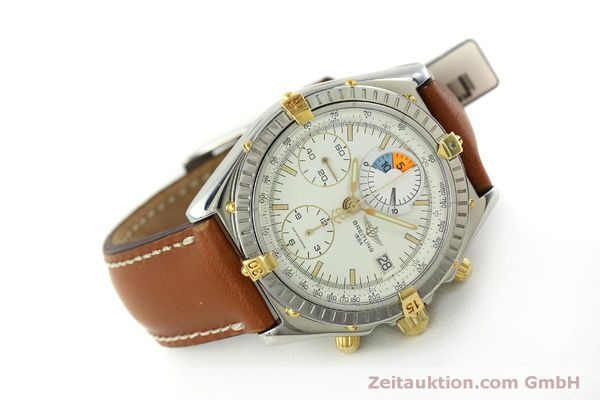 Used luxury watch Breitling Chronomat chronograph steel / gold automatic Kal. B13 ETA 7750 Ref. B13048  | 151375 03