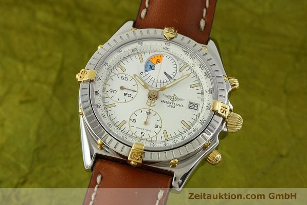 Used luxury watch Breitling Chronomat chronograph steel / gold automatic Kal. B13 ETA 7750 Ref. B13048  | 151375 04
