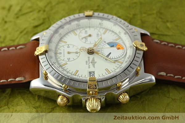 Used luxury watch Breitling Chronomat chronograph steel / gold automatic Kal. B13 ETA 7750 Ref. B13048  | 151375 05