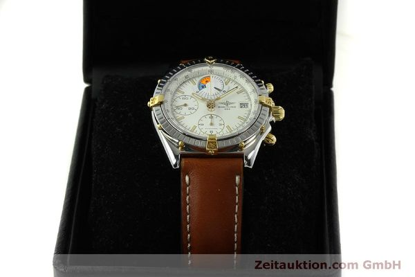 Used luxury watch Breitling Chronomat chronograph steel / gold automatic Kal. B13 ETA 7750 Ref. B13048  | 151375 07