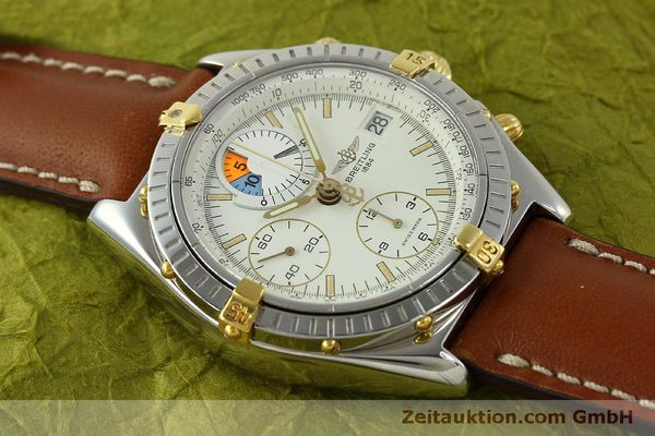 Used luxury watch Breitling Chronomat chronograph steel / gold automatic Kal. B13 ETA 7750 Ref. B13048  | 151375 15