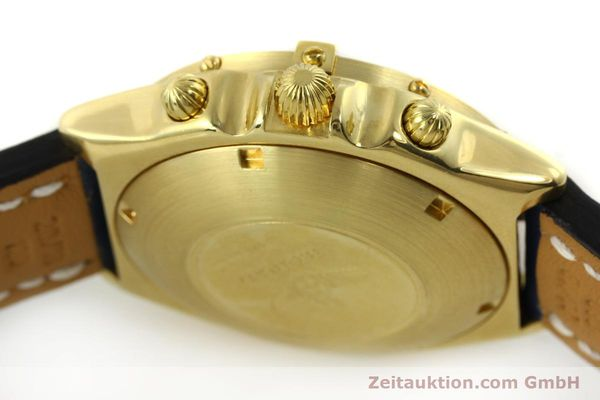 Used luxury watch Breitling Chronomat chronograph 18 ct gold automatic Kal. Val. 7750 Ref. 81950  | 151376 08