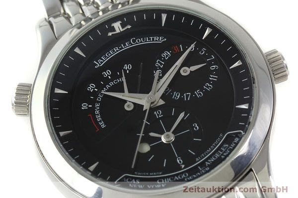 Used luxury watch Jaeger Le Coultre Master Geographic steel automatic Kal. 929/3 Ref. 142.8.92.S  | 151381 02
