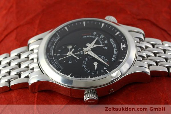Used luxury watch Jaeger Le Coultre Master Geographic steel automatic Kal. 929/3 Ref. 142.8.92.S  | 151381 05