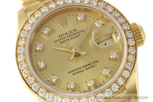 Used luxury watch Rolex Lady Datejust 18 ct gold automatic Kal. 2135 Ref. 69138  | 151392 02