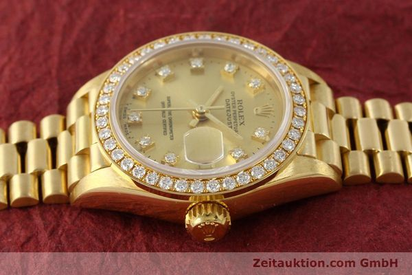 Used luxury watch Rolex Lady Datejust 18 ct gold automatic Kal. 2135 Ref. 69138  | 151392 05
