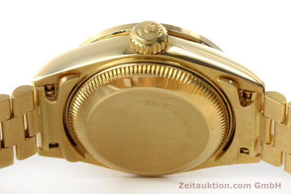Used luxury watch Rolex Lady Datejust 18 ct gold automatic Kal. 2135 Ref. 69138  | 151392 08