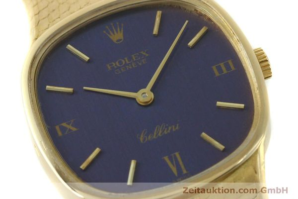Used luxury watch Rolex Cellini 18 ct gold manual winding Kal. 1601 Ref. 746  | 151393 02