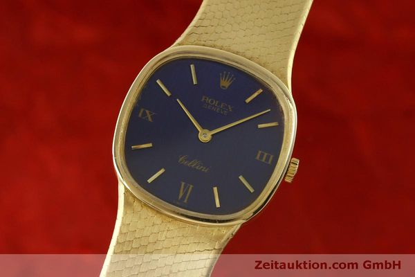 Used luxury watch Rolex Cellini 18 ct gold manual winding Kal. 1601 Ref. 746  | 151393 04