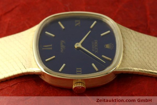 Used luxury watch Rolex Cellini 18 ct gold manual winding Kal. 1601 Ref. 746  | 151393 05