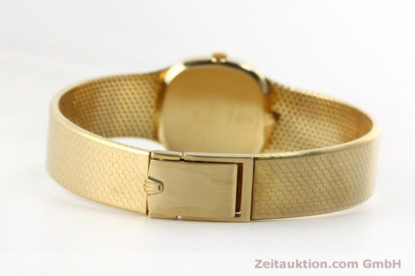 Used luxury watch Rolex Cellini 18 ct gold manual winding Kal. 1601 Ref. 746  | 151393 12