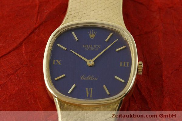 Used luxury watch Rolex Cellini 18 ct gold manual winding Kal. 1601 Ref. 746  | 151393 16