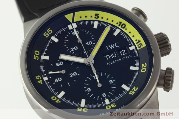 Used luxury watch IWC Aquatimer chronograph titanium automatic Kal. 79320 Ref. 3719  | 151394 02
